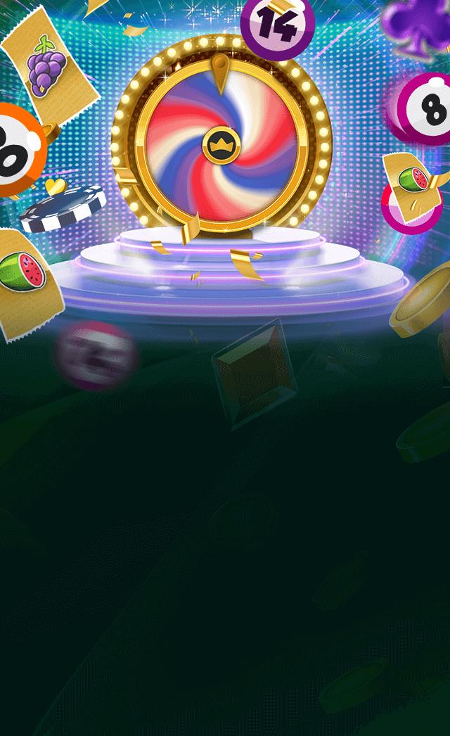 Bonus Boss Online Casino - Wheel of Fortune mini-game mobile banner