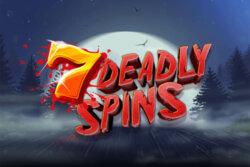 7 Deadly Spins online slots at Bonus Boss Online Casino - game grid