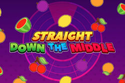 Straight Down The Middle online slots at Bonus Boss Online Casino - game grid
