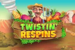 Twistin Respins online slots at Bonus Boss Online Casino - game grid