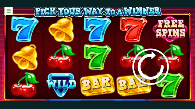 Pick Your Way To A Winner online slots at Bonus Boss Online Casino - in game screen shot