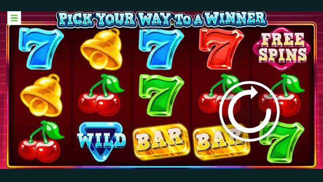 Pick Your Way To A Winner online slots at Bonus Boss Online Casino - in game screen shot