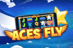 Aces Fly online slots at Bonus Boss Online Casino - game grid