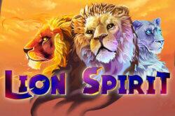 Lion Spirit online slots at Bonus Boss Online Casino - game grid