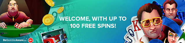 Bonus Boss Casino Welcome Bonus - Welcome, with up to 100 free spins - desktop subpage