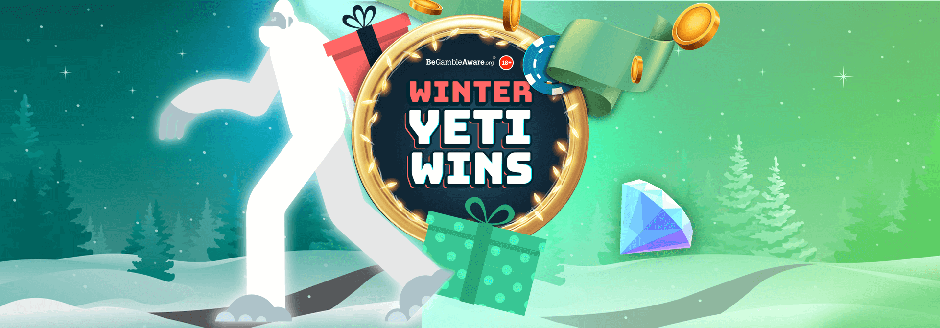Who managed to hunt down a share of 20,000 Free Spins with our Winter Yeti Wins campaign?