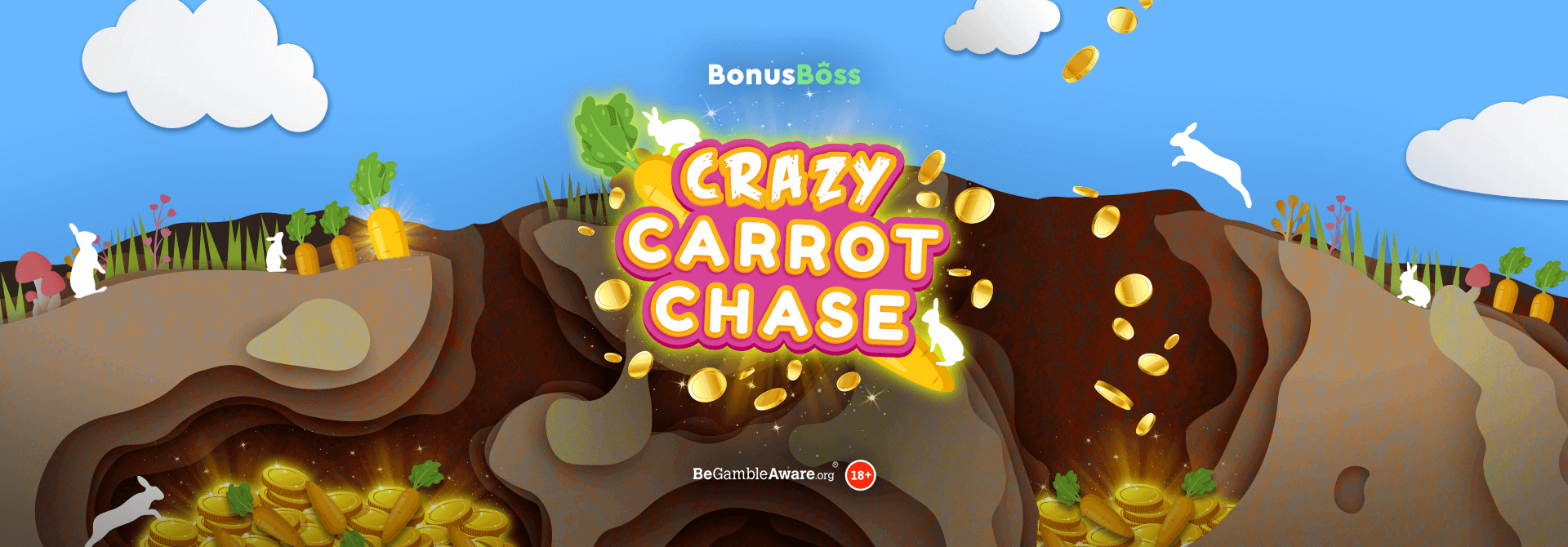 Who's winning the race in the Crazy Carrot Chase?