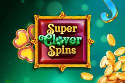 Super Clover Spins - Bonus Boss Casino online slots - game grid