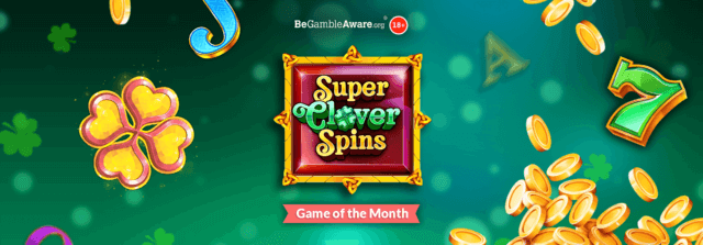 Spin in some gem-erous wins on the green, green reels of Super Clover Spins