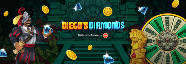 Will you discover riches with Diego's Diamonds?