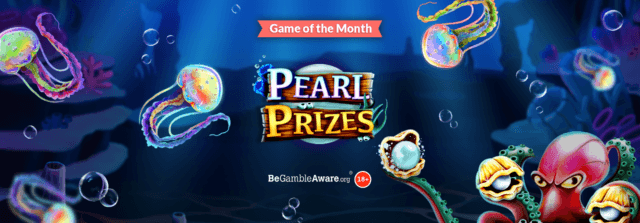Will you clam a big win with Pearl Prizes online sots?