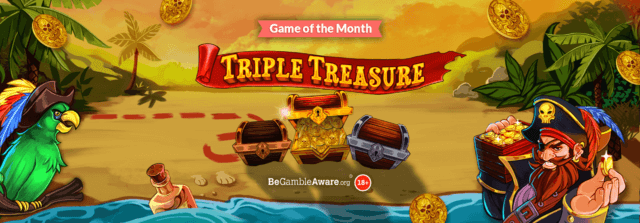 Sail the Seven Seas to potential big wins with Triple Treasure online slots